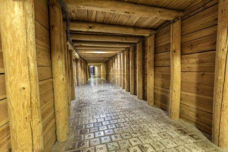 Photo pour Mine de sel à Wieliczka, Pologne . - image libre de droit
