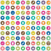 100 clothes icons se