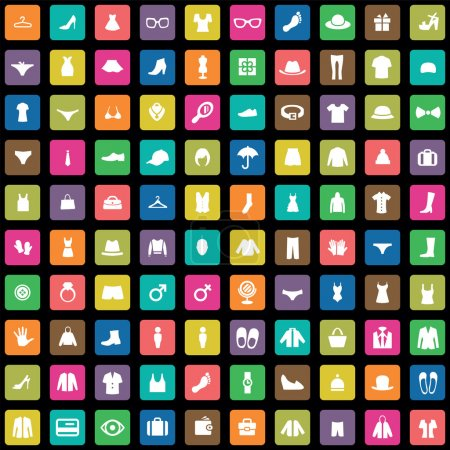 100 clothes icons se