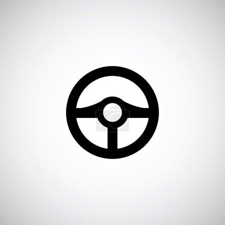steering wheel symbol