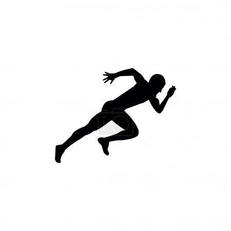 Running sprint man