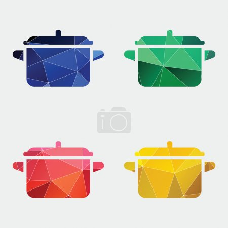 pot icon Abstract Triangle