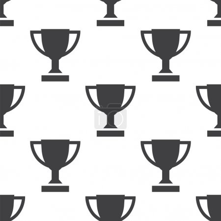 winner cup, vector seamless pattern