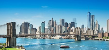 Photo for Picture of the skyline of new york - Royalty Free Image