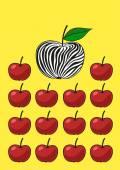 Unusual apple