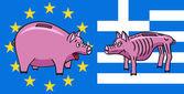 European piggy bank