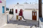 Street in Milos island, Cyclades, Greece
