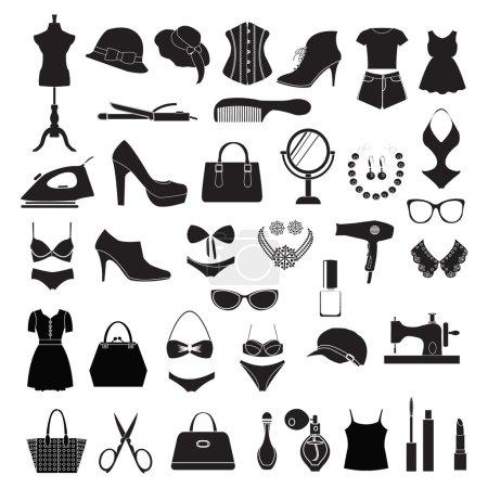 Fashion accessories - Illustration