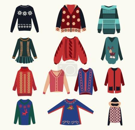 Women's sweaters - Illustration