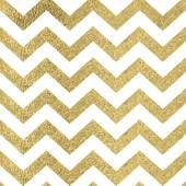 Pattern in zigzag Classic chevron seamless gold glitter pattern