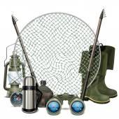 Vector Fishing Frame