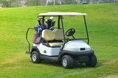 Golfové vozíky na golfovém hřišti