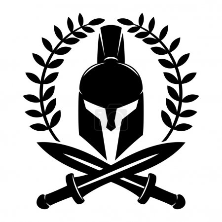 Spartan helmet sign.