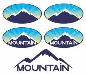 Vector signs Mountain
