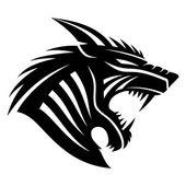 Vector sign Werewolf