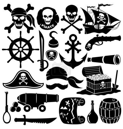 Pirate accessories.
