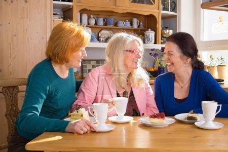 Female Friends Having Snacks