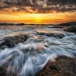 Stormy sea near Burgas, Bulgaria...
