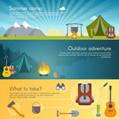 Camping Set bannery