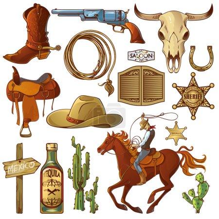 Wild West Elements Set