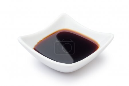 Photo for Dish of soy sauce - Royalty Free Image
