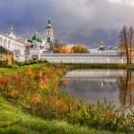 Autumn Beauty at Tolga monastery in Yaroslavl on t...