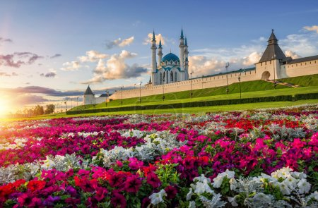 City of flowers Kazan
