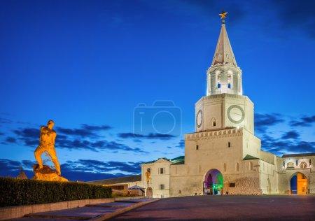 Spasskaya tower of the Kazan Kremlin