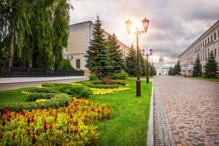 Flowers of the Kazan Kremlin