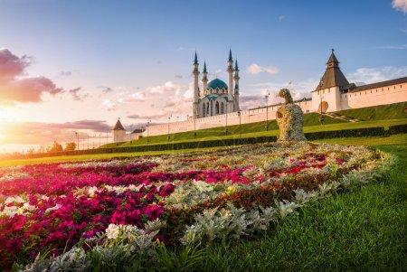 Kazan flower peacock