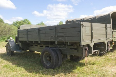 French Citroen truck T-45 at the 3rd international meeting of