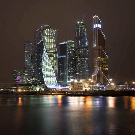 Photo for Moscow city by the night - Royalty Free Image