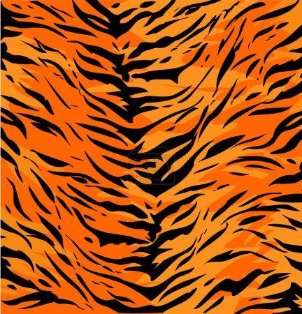 abstract  Tiger skin