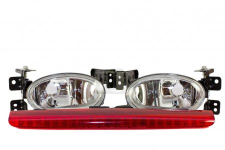 Auto parts. fog lights, stop signal