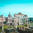 Roman Forum  - square in the heart of ancient Rome...