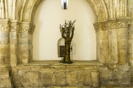 Cenacle (Room of the last supper) .
