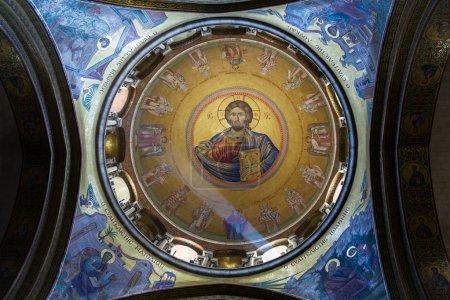 The Holy Sepulchre Church in Jerusalem .