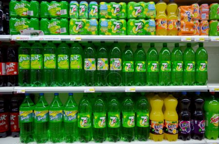 Soft drinks for sale
