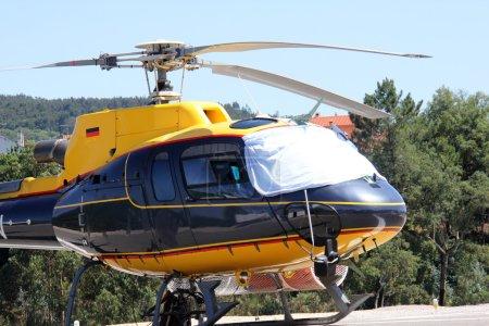 Rescue Helicopter in Algarve