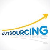Creative outsourcing word graph