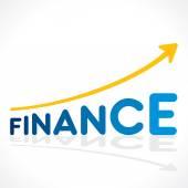 Creative business finance growth graph