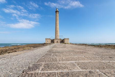 The old Lighthouse of Barfleur, France, Normandy 2015