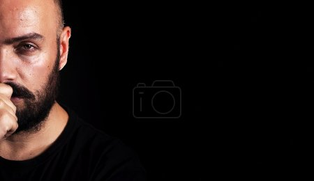 Photo for Man with a Beard Portrait - Royalty Free Image