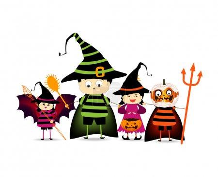 Illustration pour Joyeux Halloween - image libre de droit
