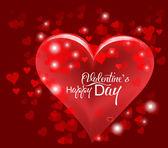 Den svatého Valentýna nebo svatební pozadí se srdíčky