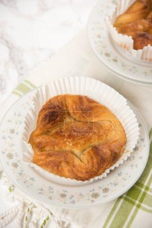 homemade Kouign Amann pies