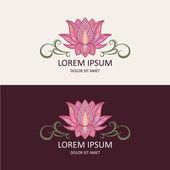 """Постер, картина, фотообои """"Lotus Logo"""""""