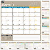 Francouzské kalendáře 2017