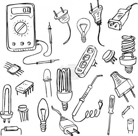 electrical doodle set