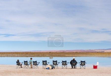 Tourist camp in Atacama